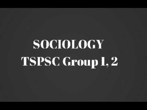 Sociology for TSPSC Group 1 Group 2 - Salient Features of Indian Society