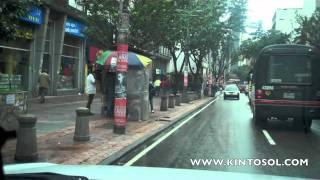 Kinto Sol en COLOMBIA - Detras de las camaras / Behind the scenes