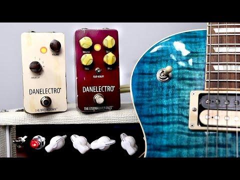 "DANELECTRO ""The Breakdown"" and ""Eisenhower Fuzz"" - Timeless Classic Rock Tones!"