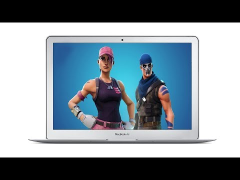 Fortnite On Mac - Running On A MacBook Air!?