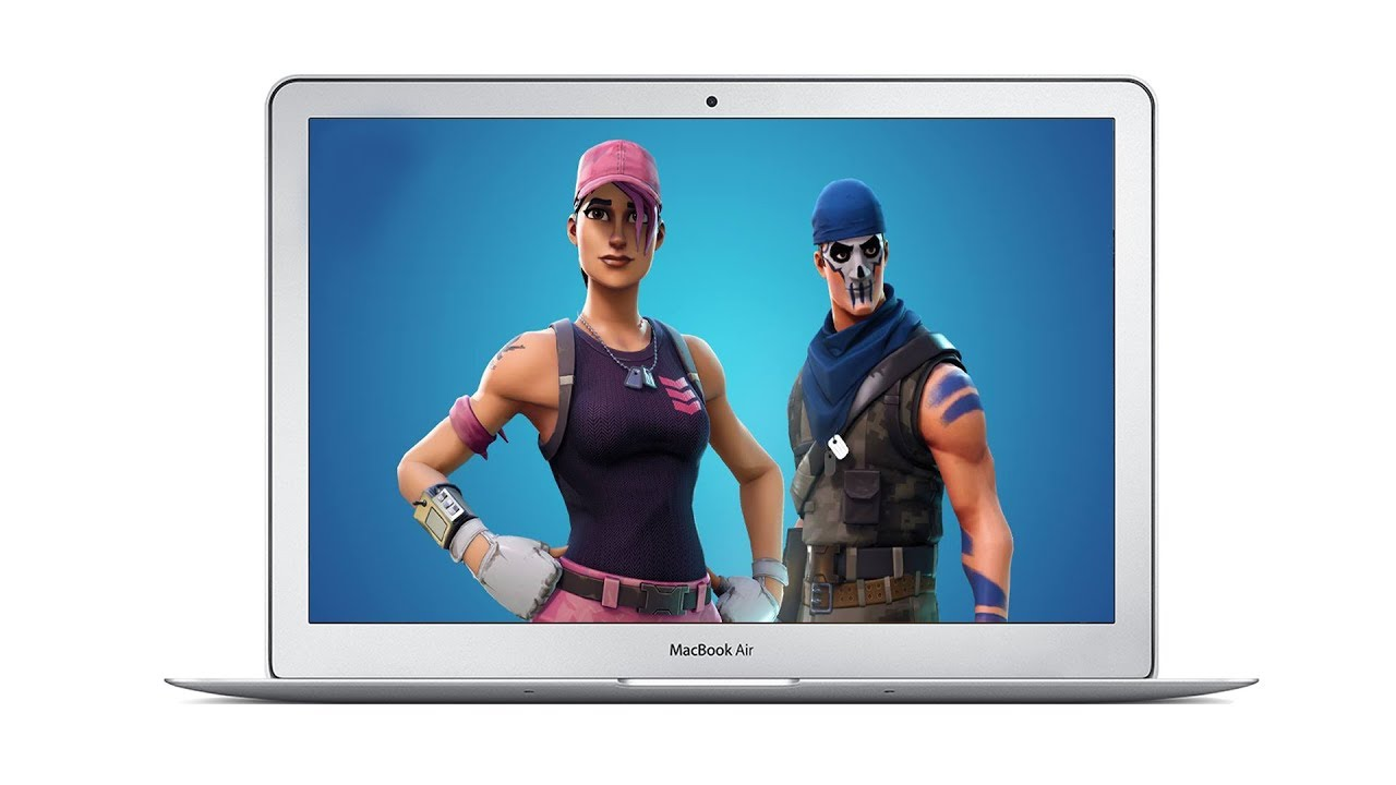 fortnite on mac running on a macbook air - can a macbook air run fortnite
