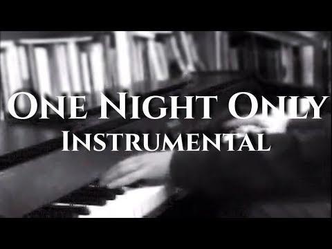 One Night Only (Dreamgirls) - Karaoke (Piano & Orchestra) by Gijs van Winkelhof