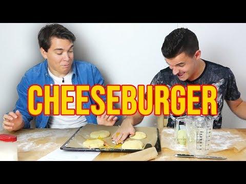 Tourette Kochen - Cheeseburger