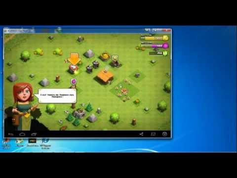 play clash of clans on pc
