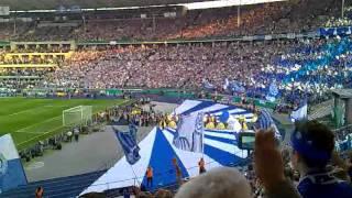 MSV Duisburg - FC Schalke 04 21.05.2011 DFB Pokal Finale Einlauf