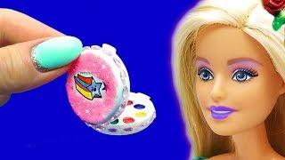 DIY Barbie Hacks and Crafts. DIY Miniature for Barbie Doll