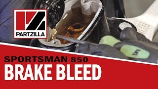 How to Bleed Polaris ATV Brakes – Front and Rear | Partzilla.com