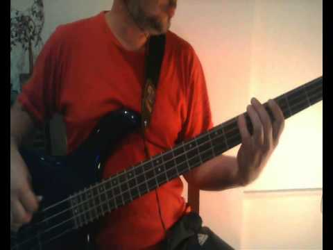 Love Is Strong by The Rolling Stones Bass Cover by Cristian Balsamello