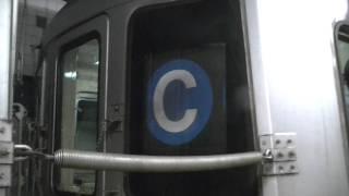 Euclid Avenue Bound R46 C Train @ 42nd Street Port Authority Bus Terminal