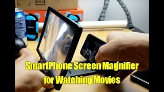 Video Smartphone Screen Magnifier Amplifier Projector for Watching Movies download MP3, 3GP, MP4, WEBM, AVI, FLV Agustus 2018