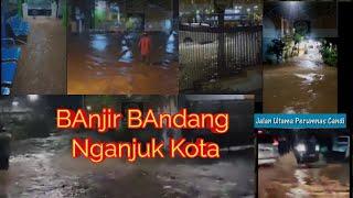 Banjir Bandang Nganjuk Kota