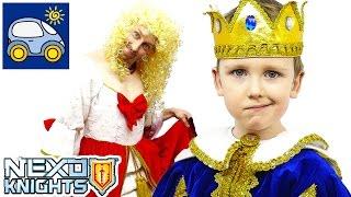 Лего Нексо Найтс 2017 Боевые Доспехи и Комбо Щиты. Lego Nexo Knights 2017. Картонка(Лего Нексо Найтс рыцари к 2017 году износили свои старые доспехи до дыр на носках. Король и Королева Найтонии,..., 2017-01-15T04:52:15.000Z)