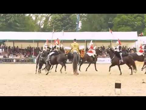 Musical Ride of The Household Cavalry Mounted Regiment