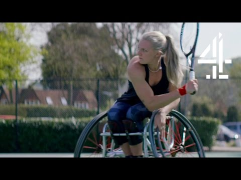 Grand Slam Wheelchair Tennis Champion Broke Legs 26 Times | Paralympians: Dare to Believe