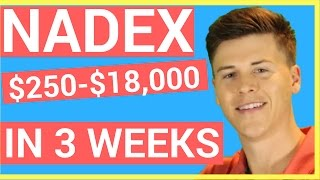 NADEX Trading - $250 Into Over $18,000 In Under One Month on Nadex❗️