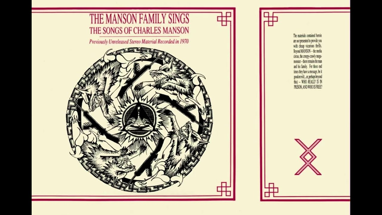 The Manson Family – The Manson Family Sings The Songs Of