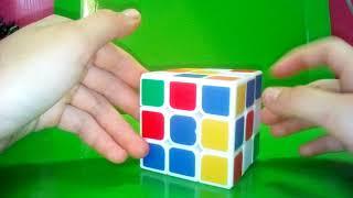 Видео урок по зборки кубика 3на3.