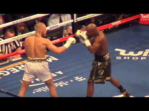 Floyd Mayweather Vs  Conor McGregor   FULL FIGHT From Inside The Arena NEW ANGLE