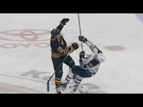 NHL Biggest Open Ice Hits