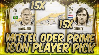 OMG 1,2 MILLIONEN! 15x PRIME oder MID ICON PLAYERPICKS in FIFA 21