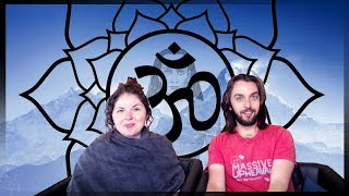 MEDITATING WITH ASCENDED MASTER BABAJI IN THE HIMAYALAS 🔥 | TWIN FLAMES JEFF & SHALEIA