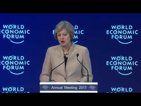 Davos 2017 - Special Address by Theresa May Prime Minister of the United Kingdom