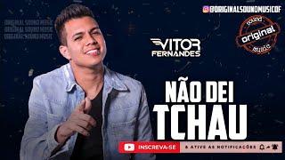 Não Dei Tchau - Vitor Fernandes   Música Nova   Lançamento 2021