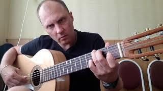 Ария - потерянный рай.Фингерстайл.Гитара