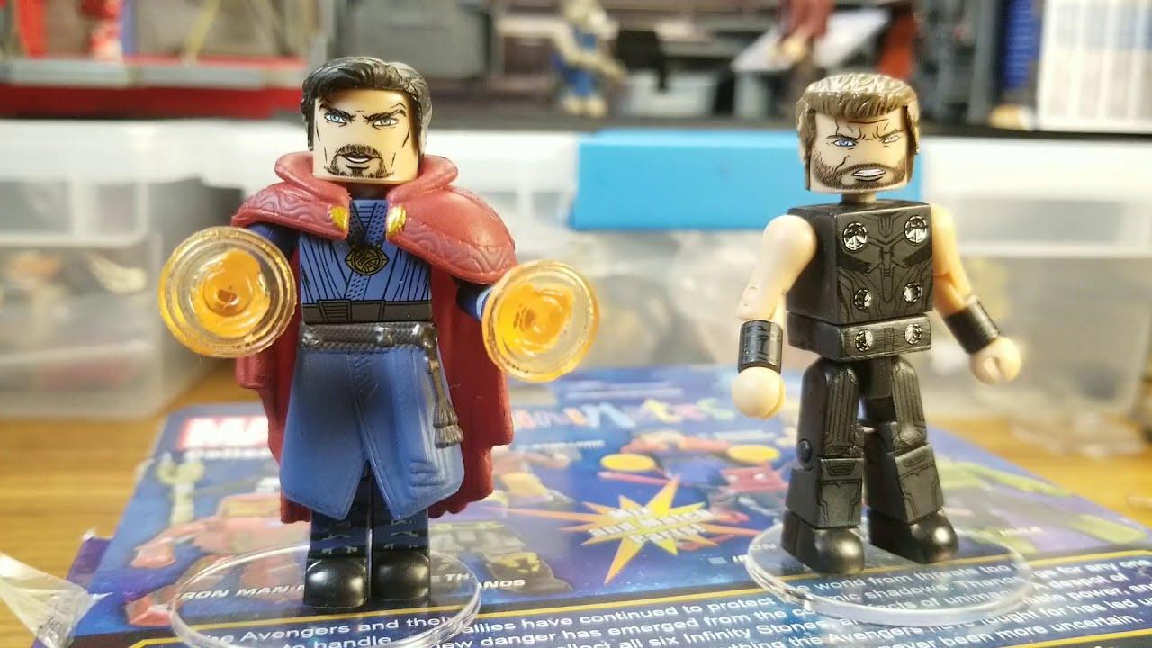 Minimates Marvel Toys R Us Infinity War Wave 2 Hulkbuster /& Corvus Glaive 2-Pack Diamond Select Toys