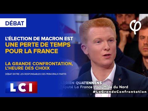 L'élection de Macron est une perte de temps pour la France   Adrien Quatennens