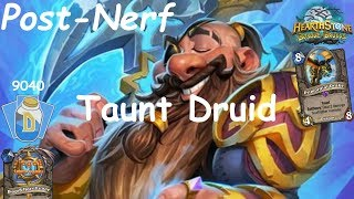 Hearthstone: Master Oakheart Taunt Druid Post-Nerf #2: Witchwood (Bosque das Bruxas) - Standard