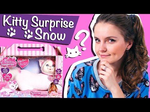 Kitty Surprise Snow (Кошка с сюрпризом Снежок)