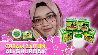 Cream Zaitun AL Ghuroba   Cream Wajah Untuk Muslimah