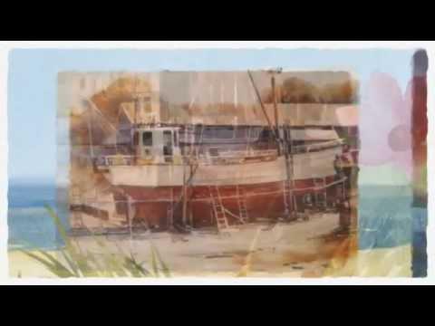 Anki Wickison Artist Gold Coast Watercolour Art Subject Boats Yachts