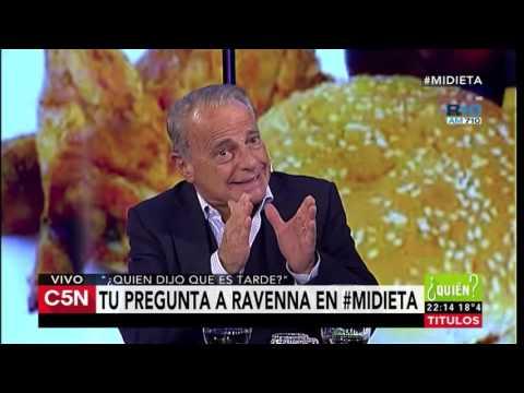 C5N - Quien dijo que es Tarde: Entrevista al Dr. Maximo Ravenna (Parte 1)
