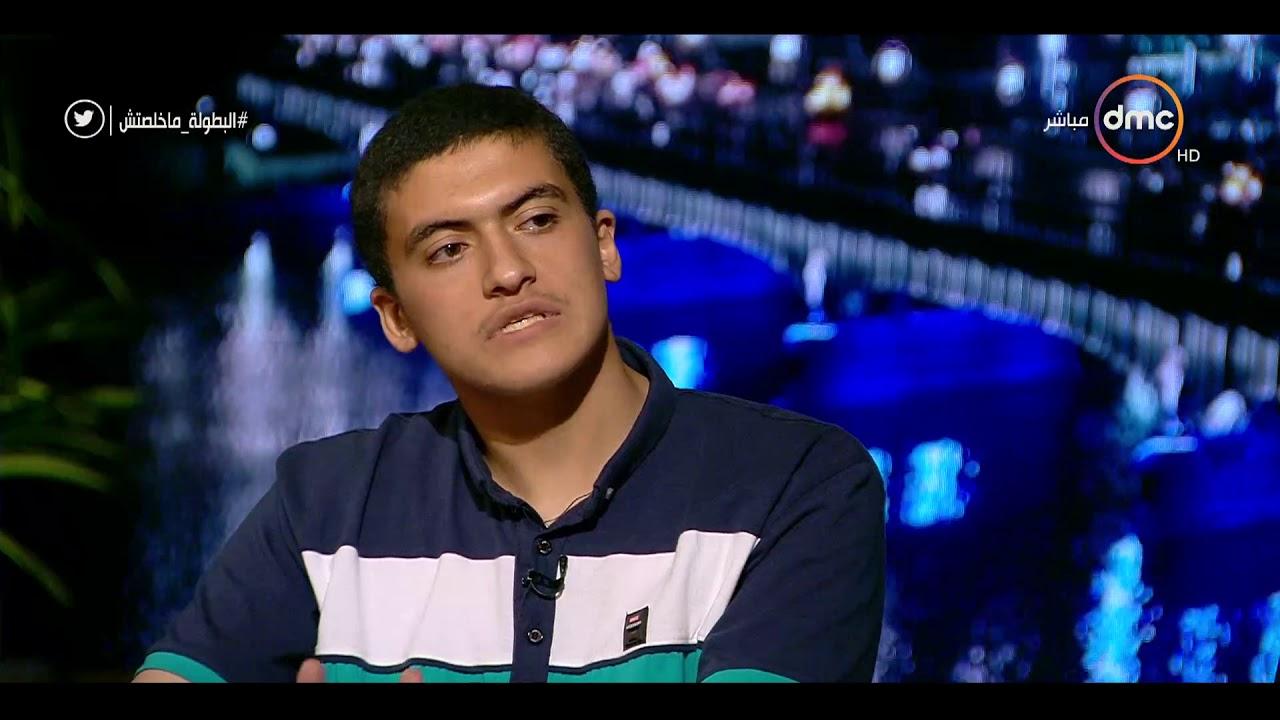 dmc:مساء dmc - محمد السيد يتحدث عن كيف ينظم يومه بين المذاكره والدروس