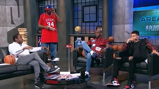 AREA 21 - KG chops it up with Rasheed Wallace, Avery Johnson & Kyle Kuzma