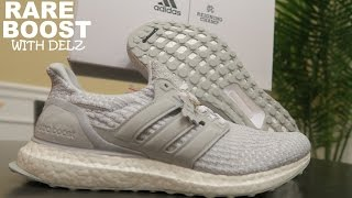 REIGNING CHAMP ADIDAS ULTRABOOST SNEAKER UNBOXING REVIEW WITH DJ DELZ
