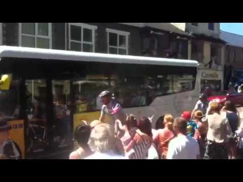 Olympic Torch Rhondda Cynon Taff 2012