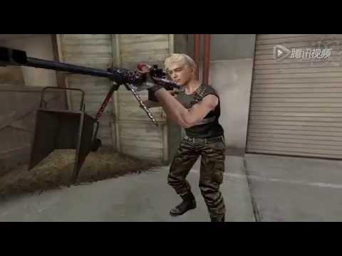 Đột kích xuất hiện nhân vật nam mới, vũ khí mới và map mới nè