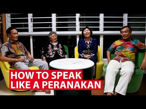 How to speak like a Peranakan | CNA Insider