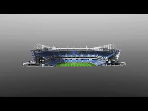 Калининградский стадион #ЧМ2018. Ролик предоставлен ЦНИИПромзданий.