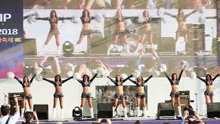 A - 더 로스앤젤레스 램스 치어리더 팀 (The Rams Cheerleaders) 공연 - A 2018 서울세계도시문화축제 ◆ 직캠 GENIUS TV