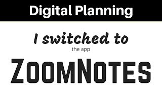 I Moved My Digital Planner Into ZoomNotes - A First Look at the App