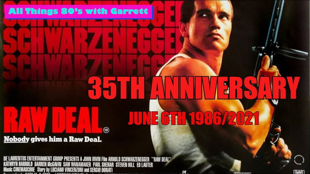 Download Raw Deal, 35th Anniversary (June 6th, 1986).  Film Locations| Then and Now | Episode 1