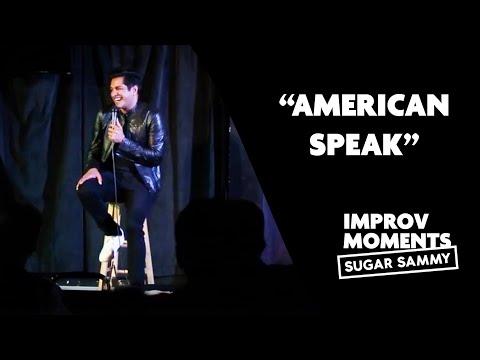 Comedy: Sugar Sammy and 'American Speak'