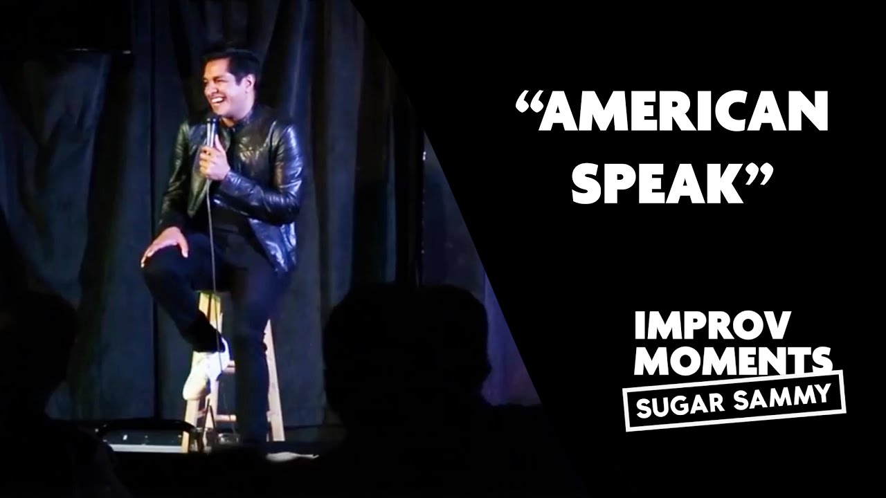 Comedy: Sugar Sammy and 'American Speak'