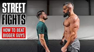 How To Fight & Bęat Bigger Guys | STREET FIGHT SURVIVAL | Most Painful Self Defence Techniques