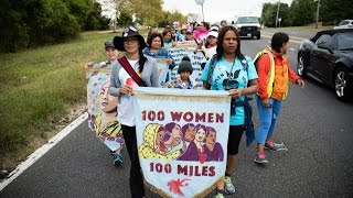100 Women Will Keep Walking Until the Pope