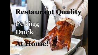 How to make Peking Duck at home!